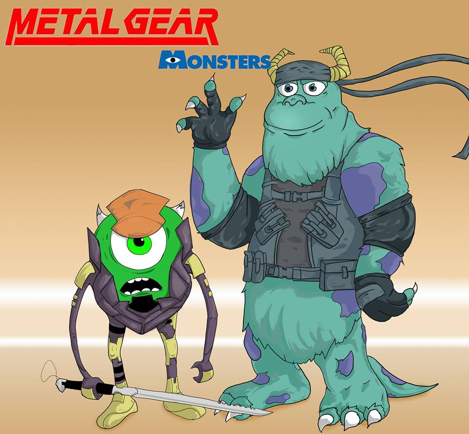 Mike & Sully Metal Gear - Jesus Martinez