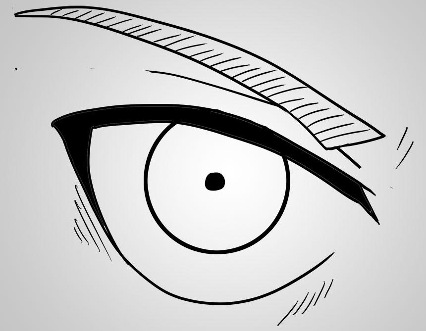 Drawing Anime Eyes Part 1 The Eren Yeager Eye