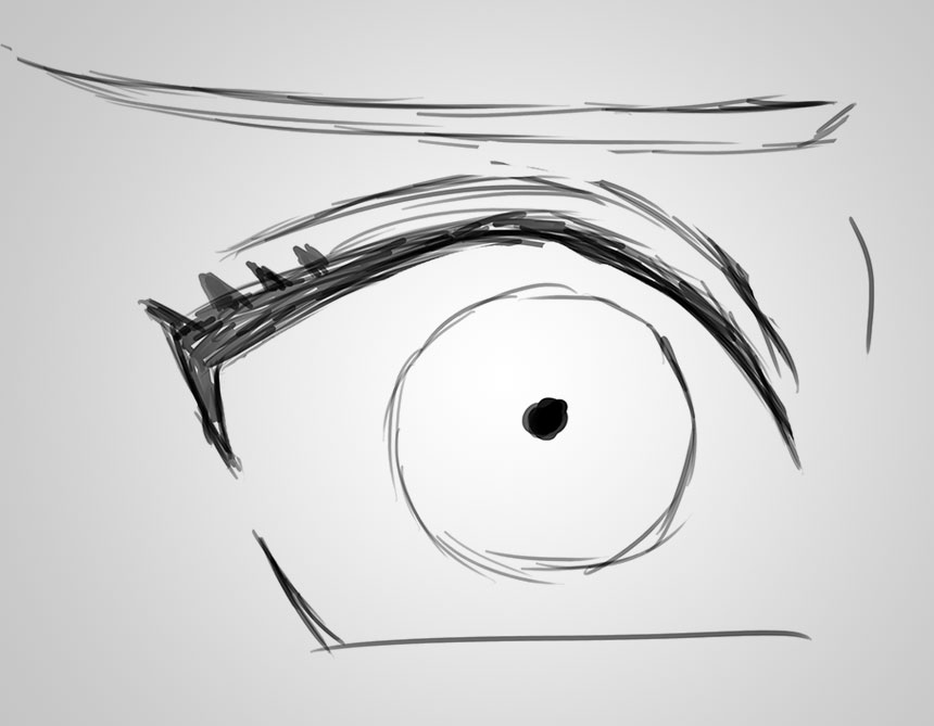 Anime Eye Drawing Techniques Drawing Anime Eyes