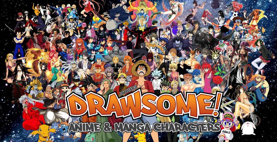 Drawsome Anime & Manga Characters