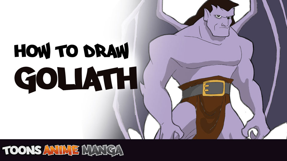 how-to-draw-goliath-from-gargoyles