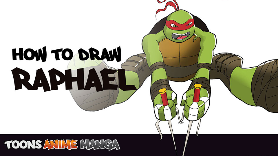 how-to-draw-raphael-tmnt-2014