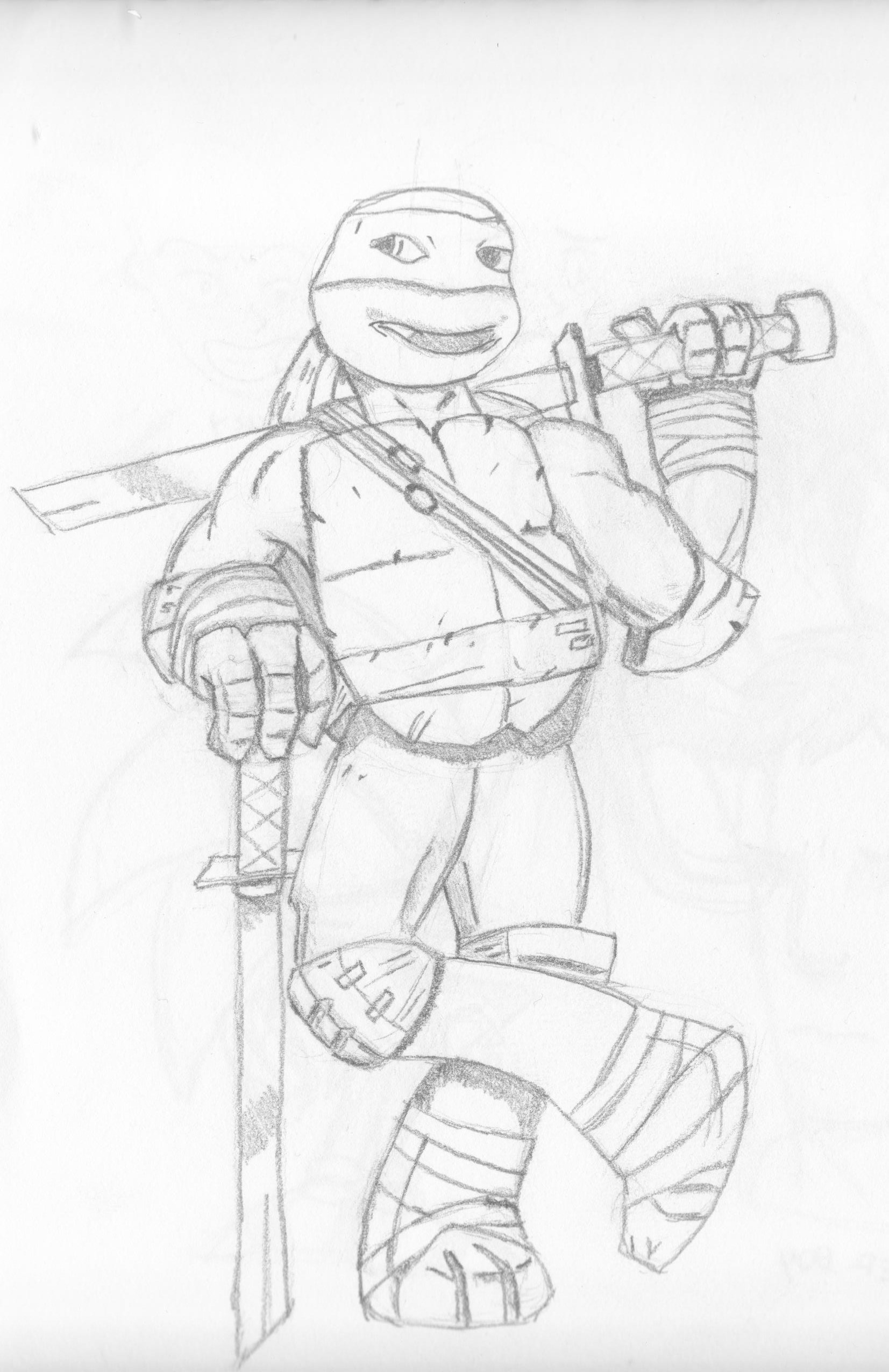 How To Draw Ninja Turtles Nickelodeon Style