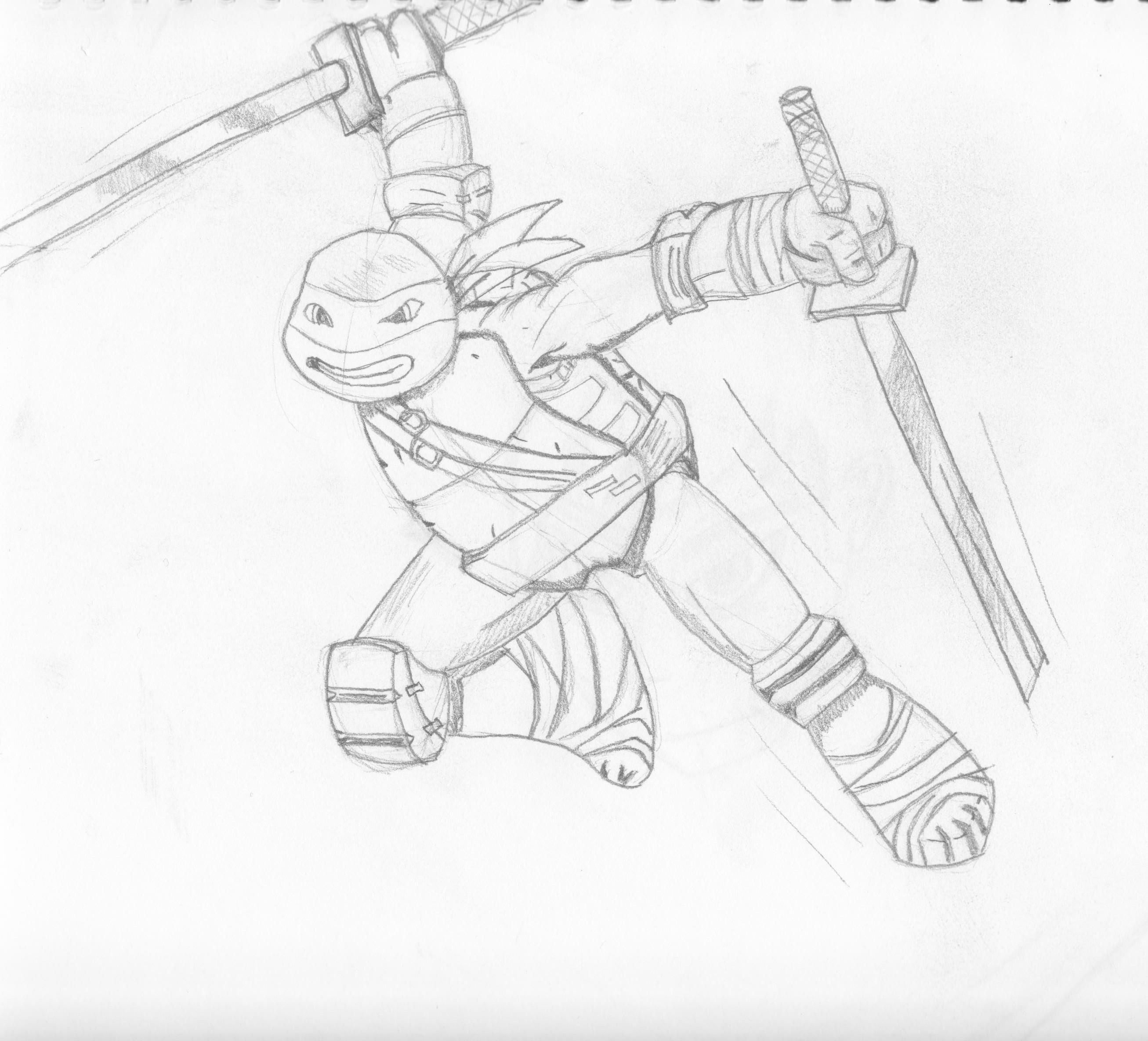 How To Draw Ninja Turtles Nickelodeon Style