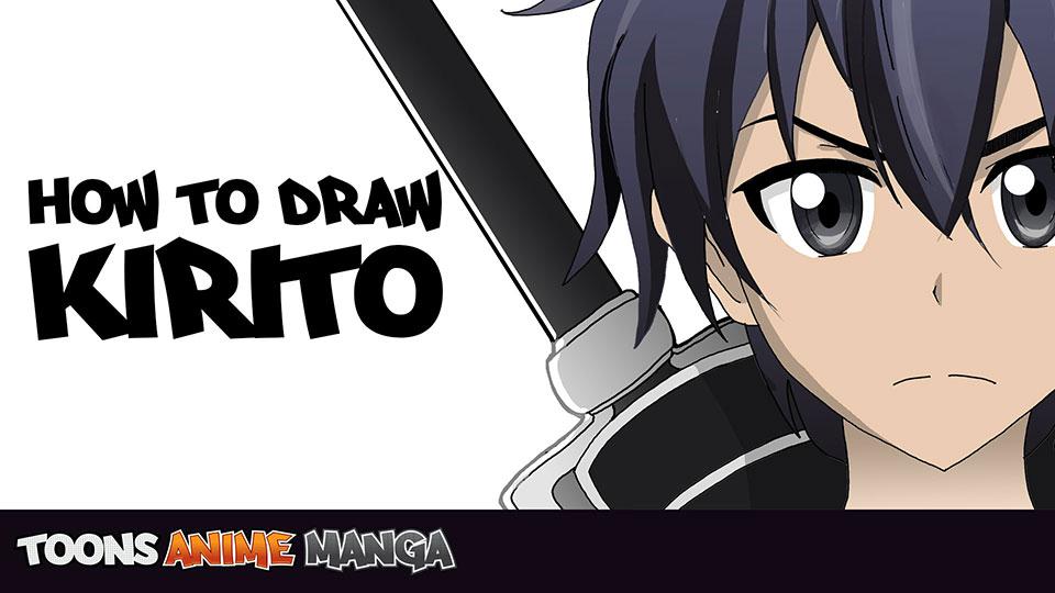 how-draw-kirito-sword-art-online1