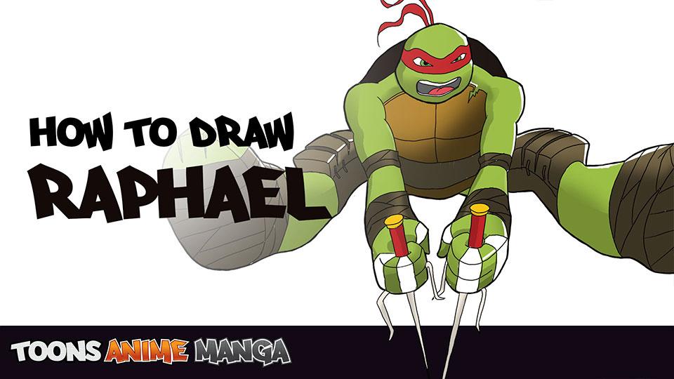 how-to-draw-raphael-tmnt-2014